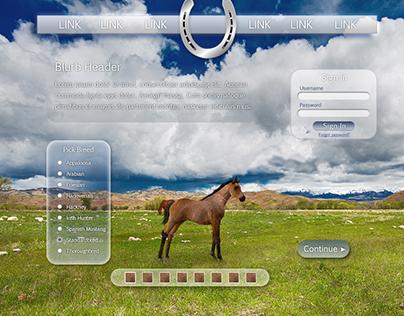 Web Design: Mockup