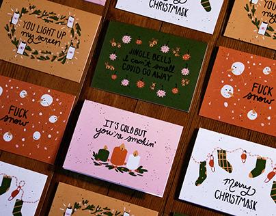 Covid Christmas Cards 2020