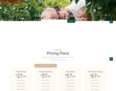 Organic Ecommerce store