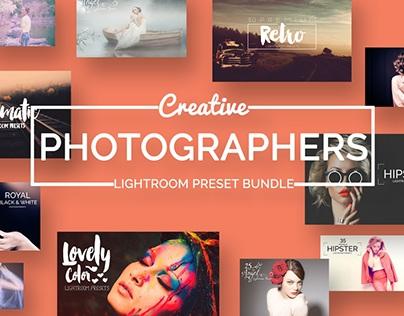 Photographer's Lightroom Presets Bundle (70% OFF)