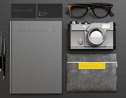 Manuela Fraioli Photographer - Logo Design