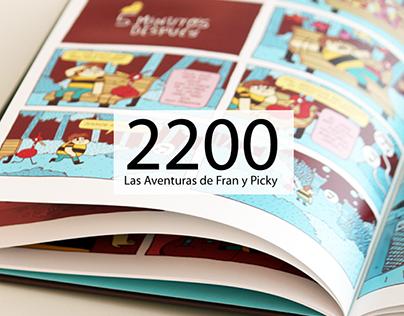 Guión cómic 2200, Las aventuras de Fran y Picky