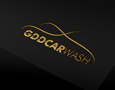 // GDD Carwash Logo Design