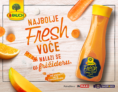 Rauch Fresh | 360 Campaign | Copywriting