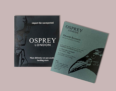 Osprey London Flagship Store Opening Invitation