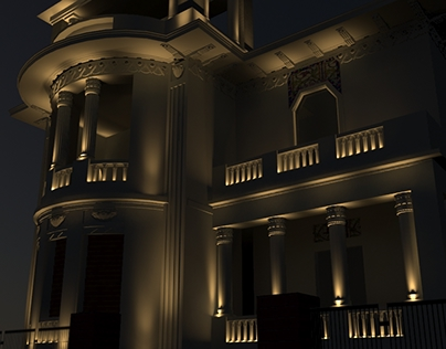 Eram, Exterior Decorative Lighting Building