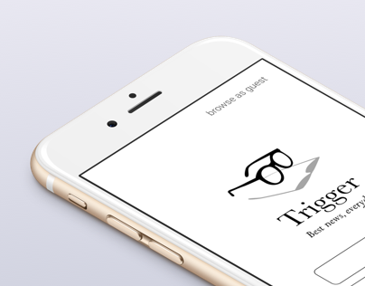 Trigger news app