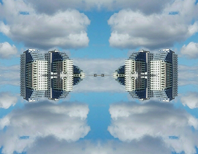 :SKYscrapers in the SKY: photo-collage, 2019