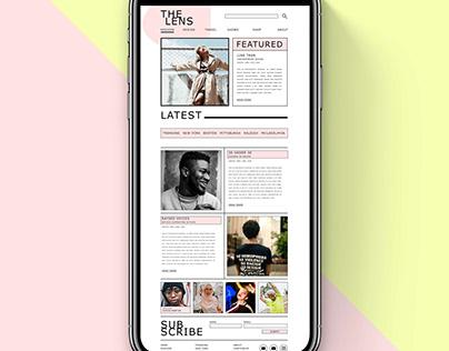 Pastel Pink E-Magazine