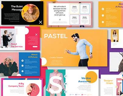 Pastel Modern Minimal Powerpoint Keynote