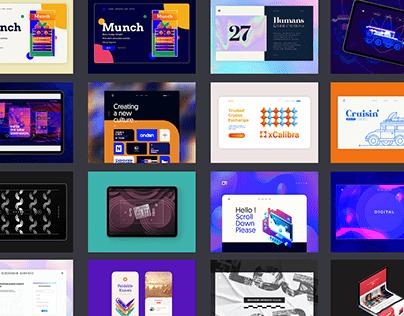Web Design   Landing 2020