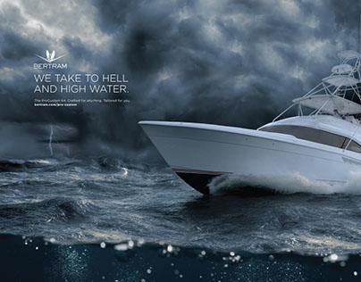 Bertram Yachts Print