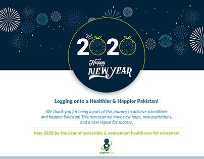 Happy New Year post design