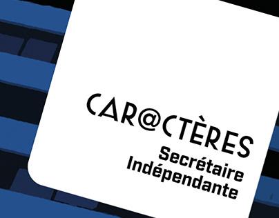CAR@CTÈRES Secrétaire Indépendante