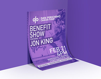 Dan Perichino Cancer Fund Branding
