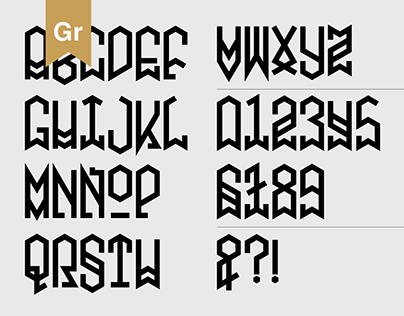 Metatron Font (Preview)