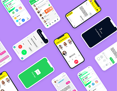 8 Communication mobile app