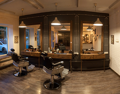 "Barbershop & Coffee ""GOOD TIMES"" Realy"