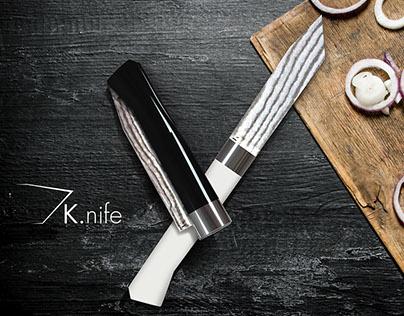Luxurious pocket knife-Sketch