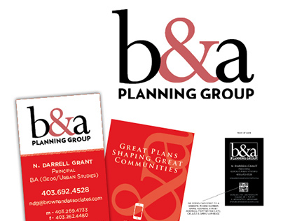 Brown & Associates Planning Group Corporate Identity
