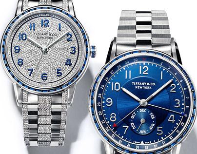 Watch Retouching for Tiffany & Co.