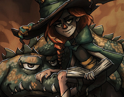 Moira - Swamp Witch
