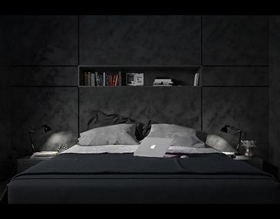 Black Stillness - interior design