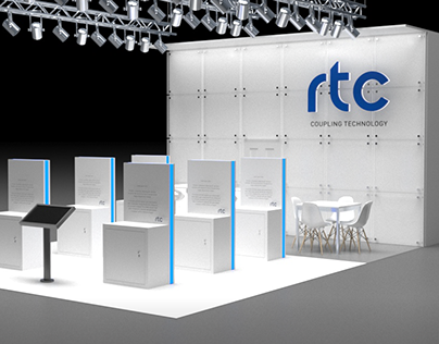 Exhibition Booth Stand // RTC Coupling Technology 9x6