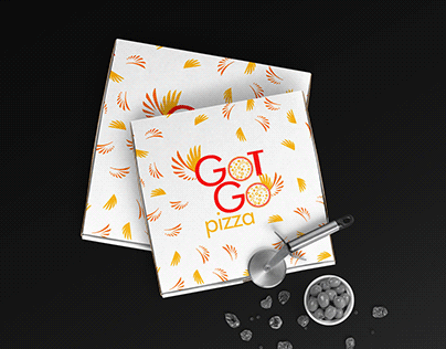 Got go pizza -Branding (concept, logo, identity)