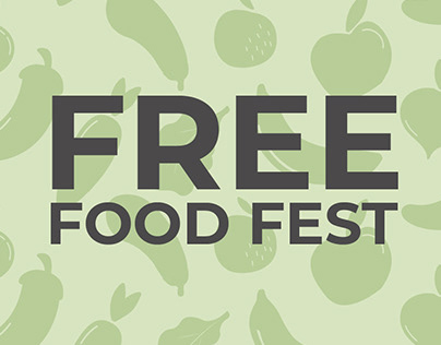 Sharing Excess Free Food Fest