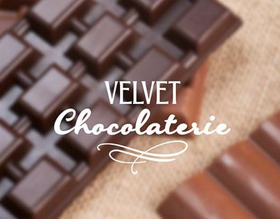 Логотип и интернет сайт для ресторана Velvet