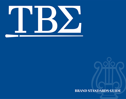 Tau Beta Sigma Visual Brand Identity