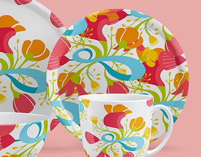 Patterns - Tableware