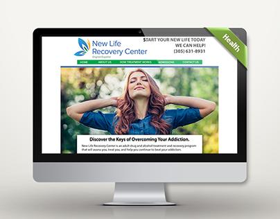 Website Design w/ Logo Redesign - Recovery Center