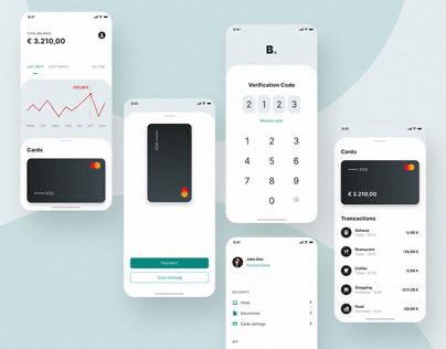 Banking App (Free Adobe XD)