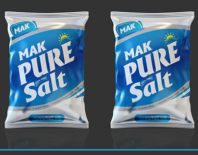 SALT PACKAGING TEMPLATE