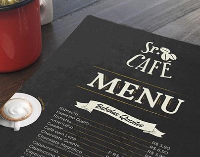 Menu Sr. Café