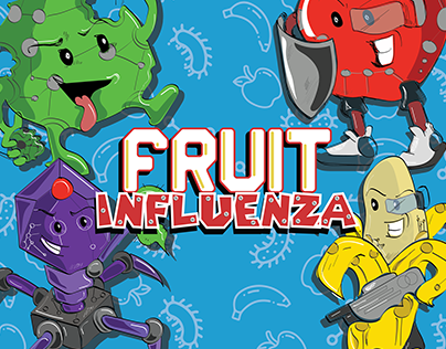 FRUIT INFLUENZA: BOARD GAME DESIGN