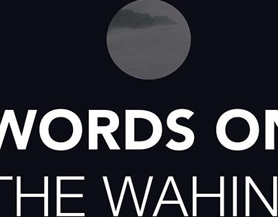 Word Room Exhibition Proposal