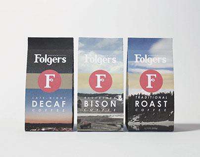 Folgers Coffee Rebrand