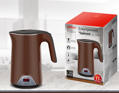Electric kettle packaging designe