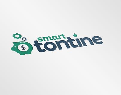 Logo et identité visuelle société Smartontine