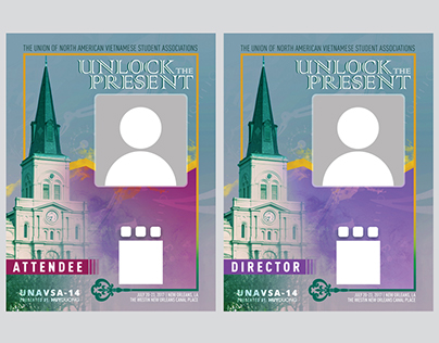 UNAVSA-14 Conference Badge Design Designations