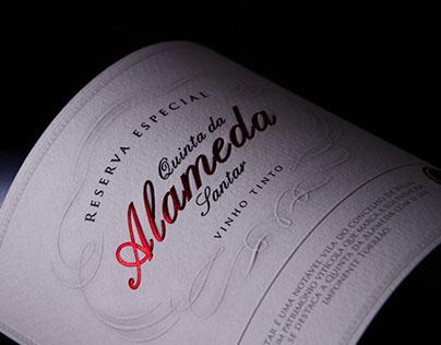 Quinta da Alameda de Santar    Wine Packaging Design