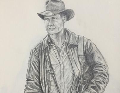Indiana Jones - Character Design