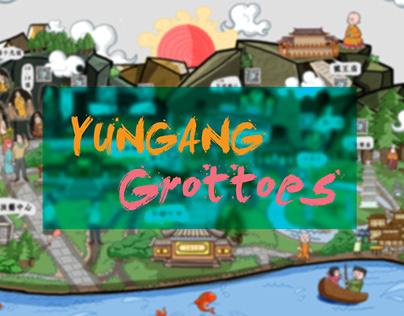 Illustration | Yungang Grottoes Map