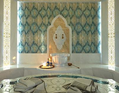 Визуализация хамама для дизайн студии Chernets Design