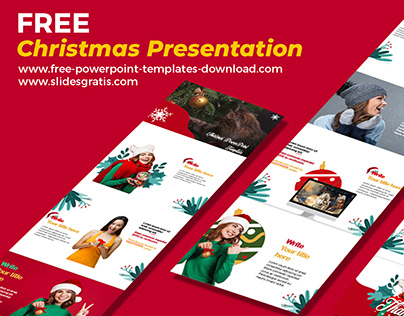 PowerPoint Templates Free Download | For Christmas