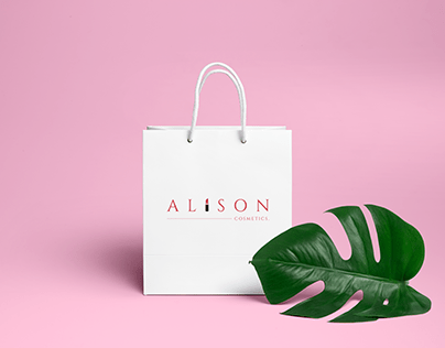 Brand Visual Design for Alison Cosmetics