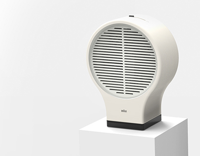 Electric Fan - Braun